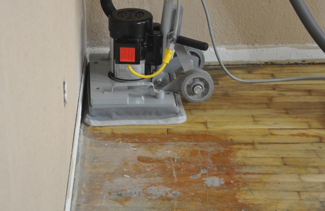 Orbital Floor Scrubber And Surface Preparation Tomcat Edge