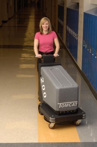 Floor Burnisher 200 Walk Behind Floor Polishing Machine