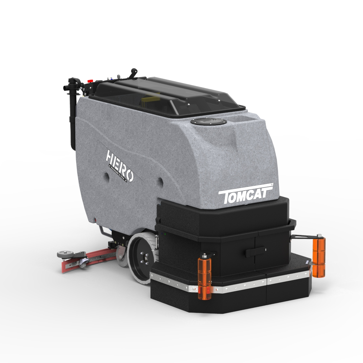 Floor scrubber dryer hero walk behind commercial floor cleaning click and drag to rotate around machine dailygadgetfo Images
