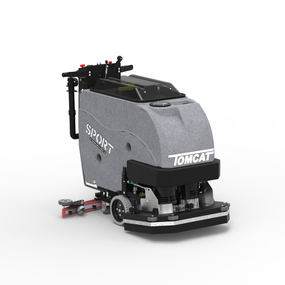 Floor Scrubber Dryer: SPORT Walk Behind Commercial Floor