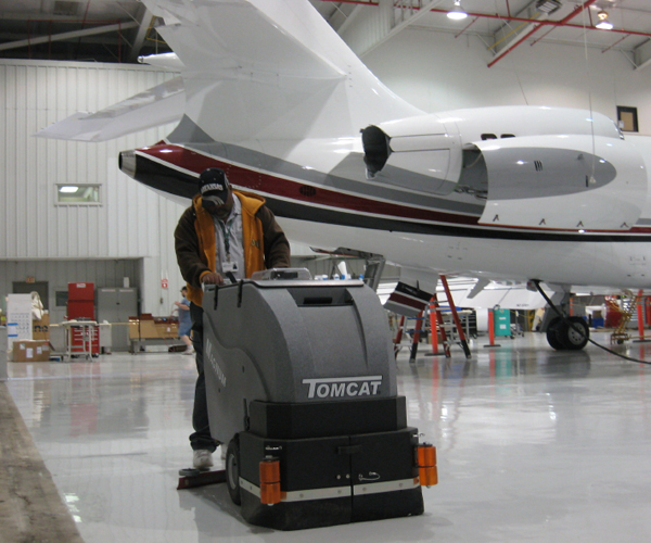 Aviation Floor Cleaning Tomcat Commercial Floor Cleaning
