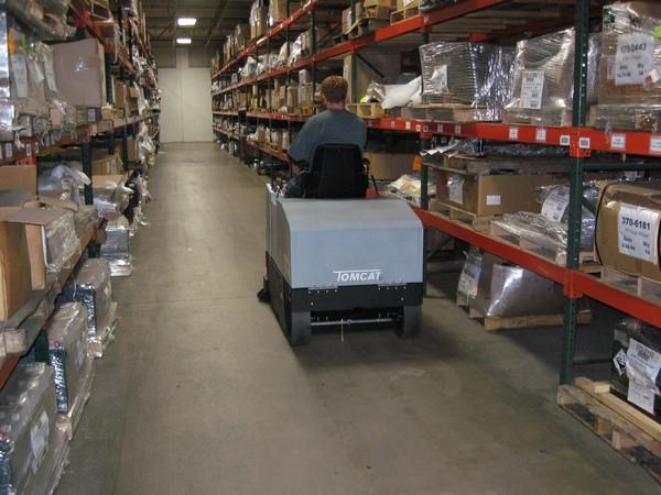 warehouse cleaning machine