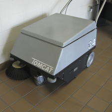 34 Walk Behind Floor Sweeper