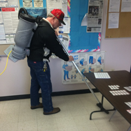 SuperDuty BackPack Vacuum Cleaning School Classroom