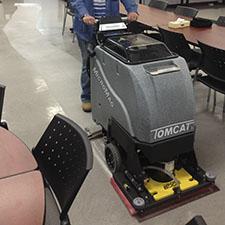 Orbital Scrubber Micromini Walk Behind Floor Scrubber