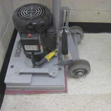 orbital scrubber: stick walk behind floor scrubber machine