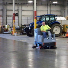 XR Floor Scrubber Dryer Do Great Jobs Cleaning Storage Facilities