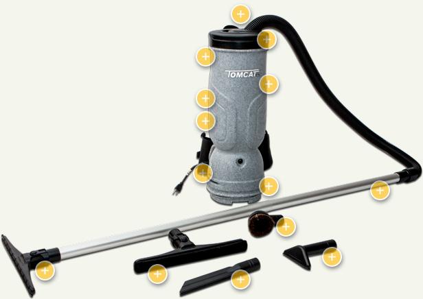 BackPack Vacuum SUPERDUTY Vacuums 6 10 Quart