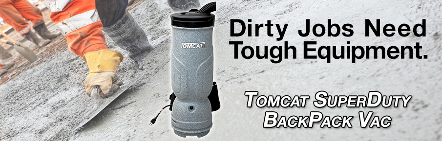 SuperDuty BackPack Vacuum is designed around Tough Jobs and Tough Environments