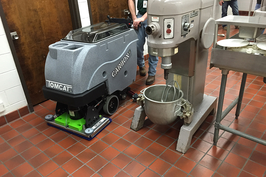 Carbon Floor Scrubber Dryer