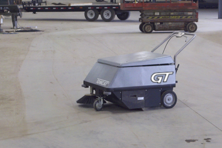 GT Walk Behind Sweeper