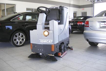 GTX Rider Scrubber-Sweeper