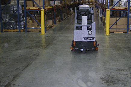 GTX Floor Scrubber Dryer Cleaning Commercial Warehouse