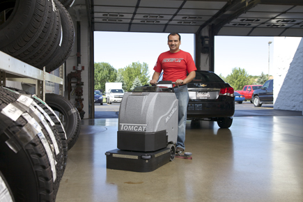 MicroMag Floor Scrubber Dryer