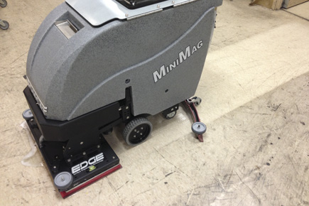 orbital scrubber: minimag walk behind floor scrubber machine