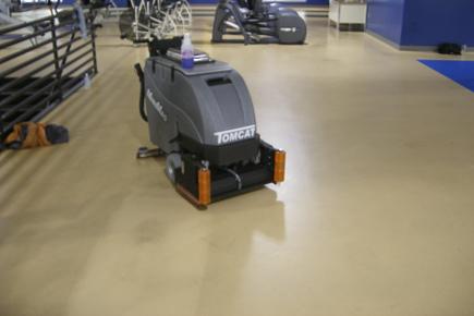 MiniMag Walk Behind Scrubber-Sweeper