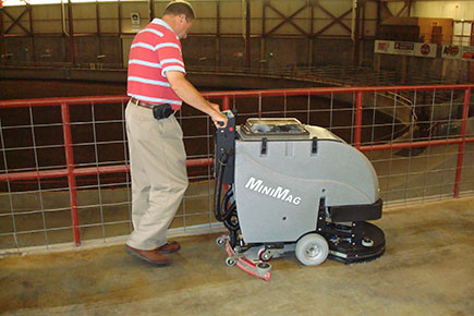 MiniMag Floor Scrubber Dryer