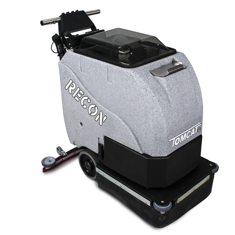 floor scrubber dryer: recon walk behind commercial floor cleaning