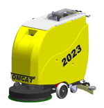2023 Series Commercial Floor Scrubber