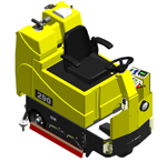 290 Series Commercial Floor Scrubber